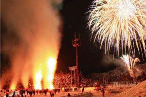 雪と火のまつり(三島)