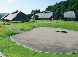 昭和村 からむし織