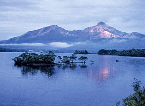 桧原湖 (ワカサギ釣り、ドライブ)
